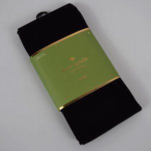 New Kate Spade Black Tights Nylon Spandex S/M M/L